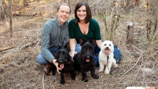 Featured Image - {Liz, David and the pups!}