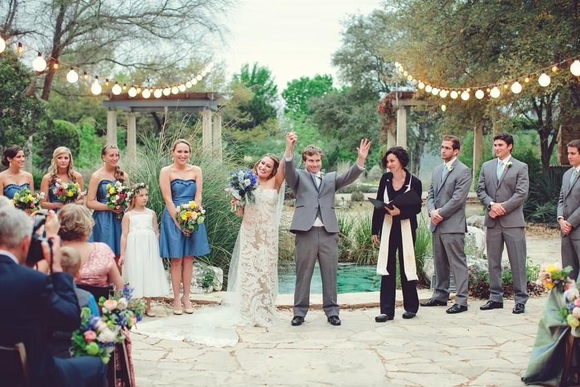 Lady Bird Johnson Wildflower Center Wedding By Sms Photography